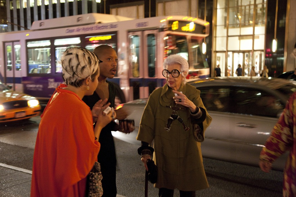 Iris Apfel, New York. Photo by Tatyana Borodina.