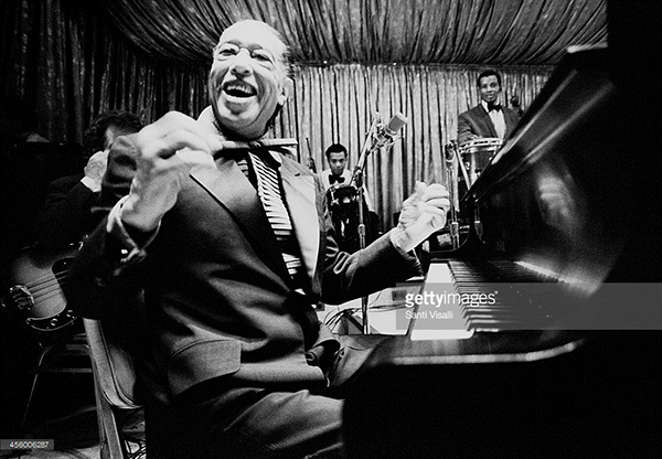 Duke Ellington performing on July 20, 1973 in New York