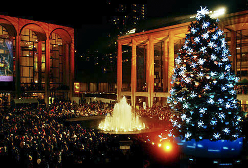 Lincoln Center Holiday Tree Lighting