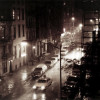 New York 10th Street, Night Rain, 1984