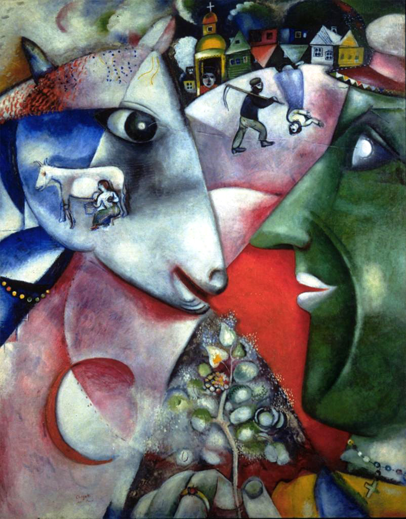 Marc-Chagall-I-and-the-Village