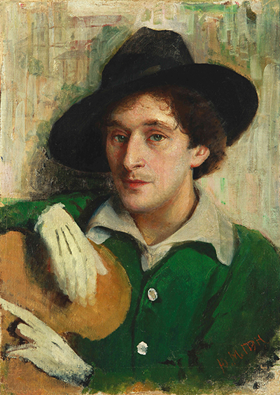 Portrait of Chagall by Yehuda (Yuri) Pen, his first art teacher in Vitebsk