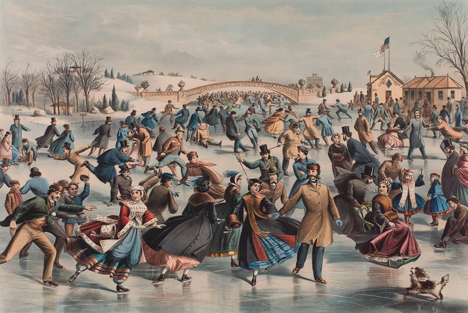 central-park-new-york-city-winter-the-skating-pond-1862-by-currier-and-ives