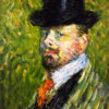 1-Self-Portrait-with-Top-Hat,-1904