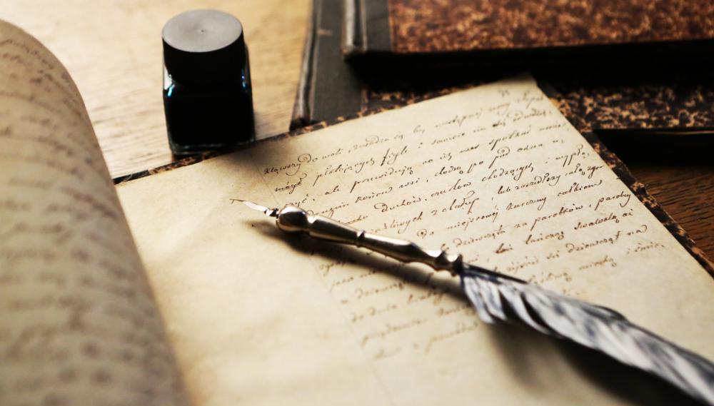 Поэтика Нью-Йорка – Elegant New York Quill And Ink Pot Image